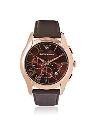 Emporio Armani Men's AR1701 Classic Brown/Brown Leather Watch