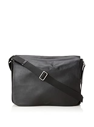 Calvin Klein Collection Men's Messenger (Black)