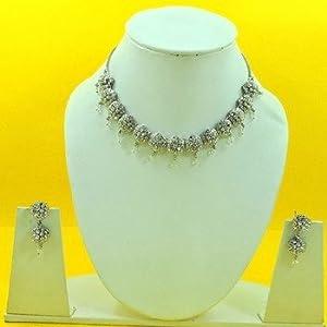 Necklace sets - Unique Designer Fashion Jewellery Silver Necklace Sets