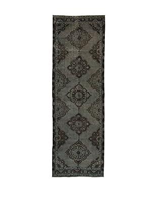 Design Community By Loomier Teppich Anatolian Vintage grau 126 x 390 cm