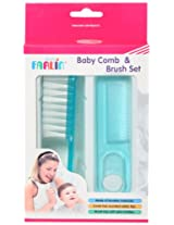 Farlin Comb and Brush Set (Blue)