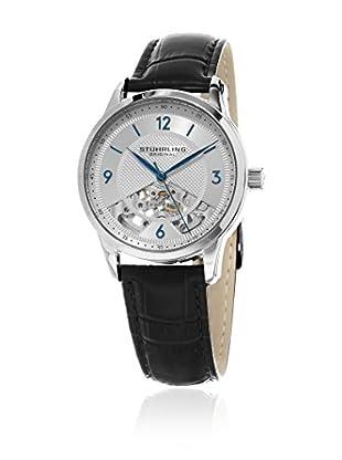 Stührling Original Uhr mit schweizer Mechanikuhrwerk Man Legacy 977.01 Schwarz