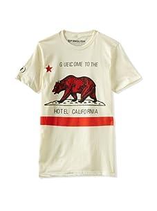 Spenglish Men's Hotel Cali T-Shirt (Ice Vanilla)