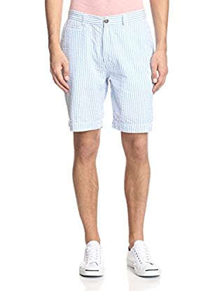Vintage 1946 Men's Wide Striped Seersucker Short