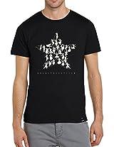 Angi Bharathanatyam T-shirt(Black) Extra Extra Large- XXL