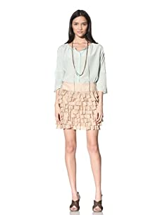 Calypso St. Barth Women's Sweet Tart Skirt (Caramel)