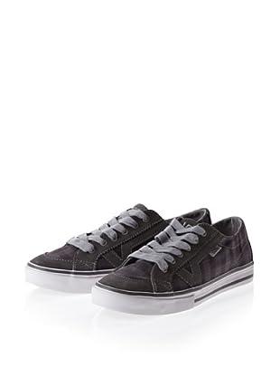 Vans Tory VOK65FS Damen Sneaker (Grau ((Boxie Plaid) grey))