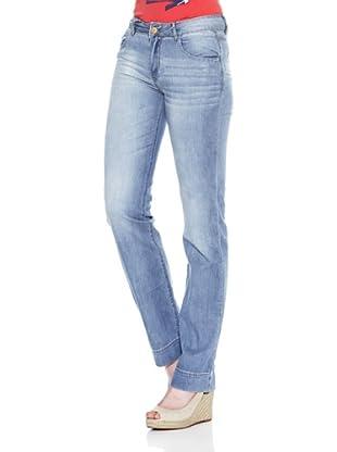 Carrera Jeans Pantalón Denim Leggero Regular (Azul Lavado)