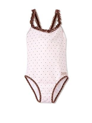 Azul Swimwear Girl's Twinkle Twinkle Little Star Swimsuit (Pink)