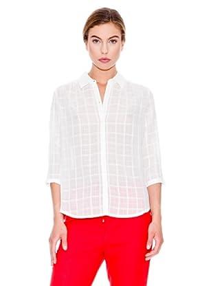 Mango Camisa Trinidad (Blanco)