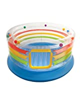 Twelve Colorful Balls Roll Bouncer