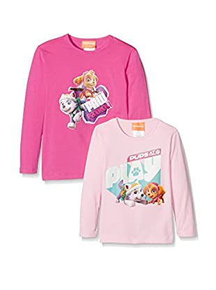 Fantasia Pack x 2 Camiseta Manga Larga Paw Patrol Girl