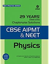29 Years Physics Chapterwise Solutions  for CBSE AIPMT & NEET (Old Edition)