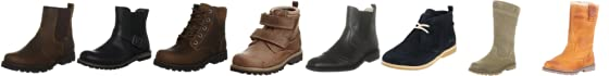 Timberland Kids Asphalt Trail Plain Classic Boot