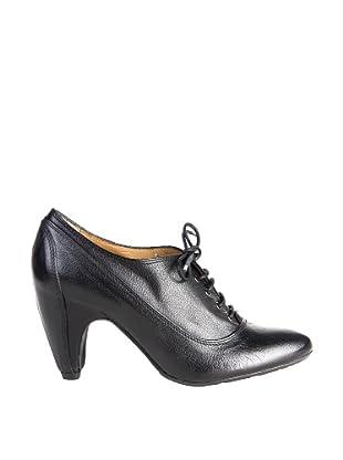 Paco Herrero Zapatos Tacón Forrado (Negro)