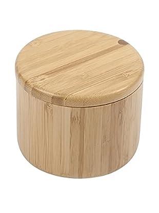 Core Bamboo Round Salt Box