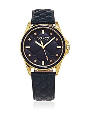 So&Co New York Orologio con Movimento al Quarzo Giapponese Woman Women