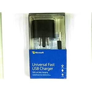 Microsoft AC-60 Universal Fast USB Charger (Black) (Previously Nokia)