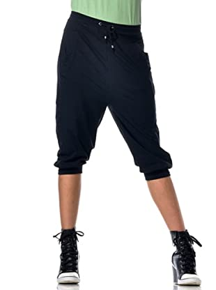 Datch Gym Pantalone Capri (Nero)