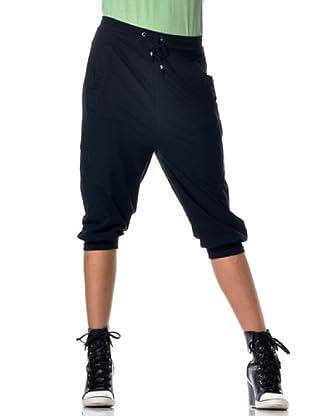 Datch Gym Pantalone Capri (Nero)