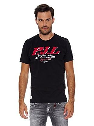 Pepe Jeans London Camiseta Wallace 1 (Negro)