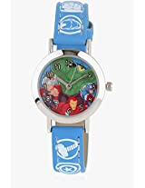 Aw100023 Blue/Multi Analog Watch Disney