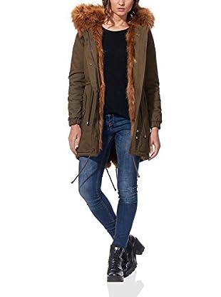 OSLEY PARIS Abrigo Faux Fur Parka