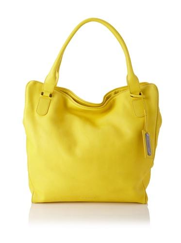 JIL SANDER Women's Oversized Tote (Yellow)
