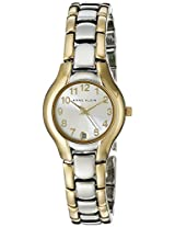 Anne Klein Womens 10-6777SVTT Two-Tone Dress Watch with an Easy to Read Dial