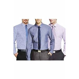 BlackBerryS Combo Pack Of 3 Men Shirts