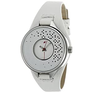 Fastrack Fastrack His and Her Analog White Dial Women's Watch - NE6058SL03