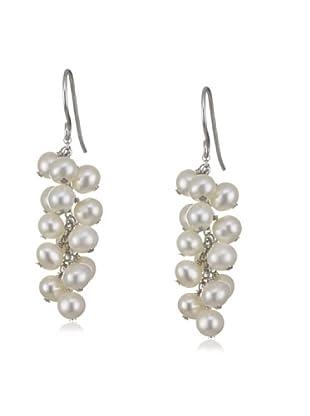 Valero Pearls 60200136 - Pendientes de mujer de plata con perla cultivada de agua dulce