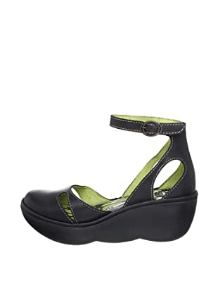 Fly London Zapatos Bessie (Negro)