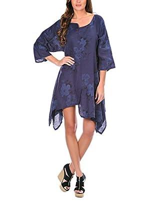 100% lino Vestido Trisha