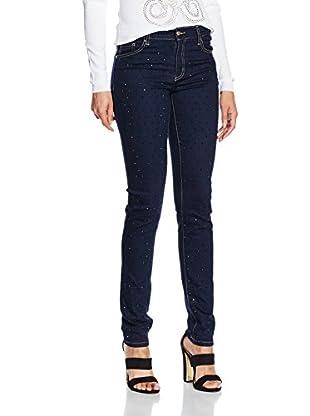 Versace Jeans Damen Hose Pantalone Generico, Blau (Indigo-E904), 25 (Herstellergröße: 25)