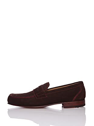 George´s Penny Loafer (dunkelbraun/velours)