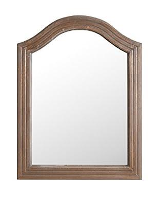 Romantic Style Espejo de Pared Ainhoa Marrón