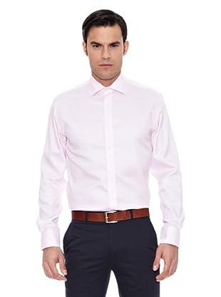 Pedro del Hierro Camisa Non Iron Microestructura (Rosa)