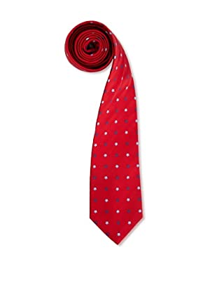Olimpo Corbata Flores (Rojo)