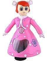 Shopo Dancing Princess Girl 3D Light Musical Dancing Barbie Doll