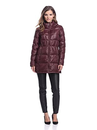 Calvin Klein Women's Down Coat (Chianti)