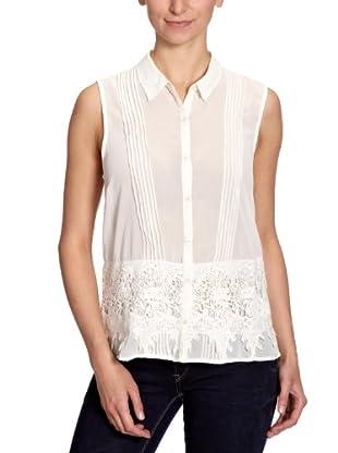 Vero Moda Blusa Angola (Blanco)
