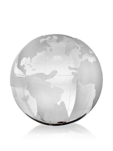 Badash Crystal Globe Paper Weight