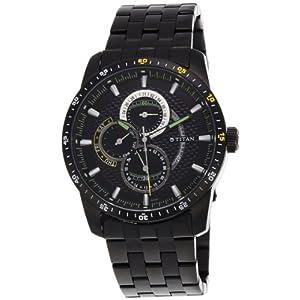 Titan Octane Analog Black Dial Men's Watch 9449NM01J