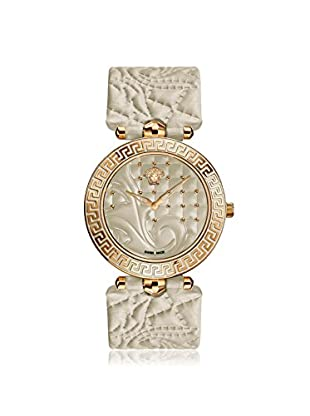 Versace Women's VK7020013 Vanitas Rose Gold Ion-Plated Watch with Two Interchangeable Leather Straps