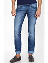 Light Blue Regular Fit Jeans(Rockville)