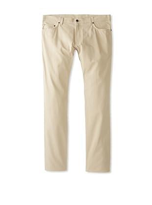 Salvatore Ferragamo Men's 5-Pocket Pants (Tan)