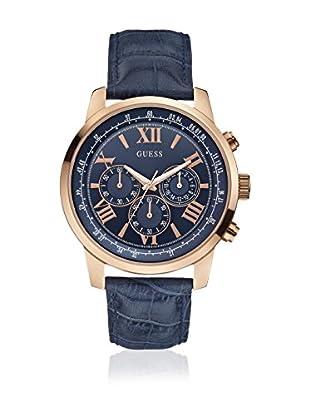 Guess Reloj de cuarzo Man W0380G5 Azul / Oro Rosa