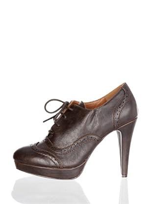 Paula Soler Zapatos Cordones (marrón)