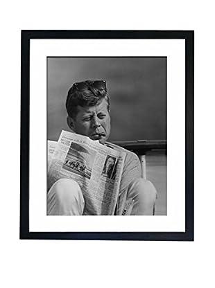 Mazali - Culture Décor Wandbild John F Kennedy